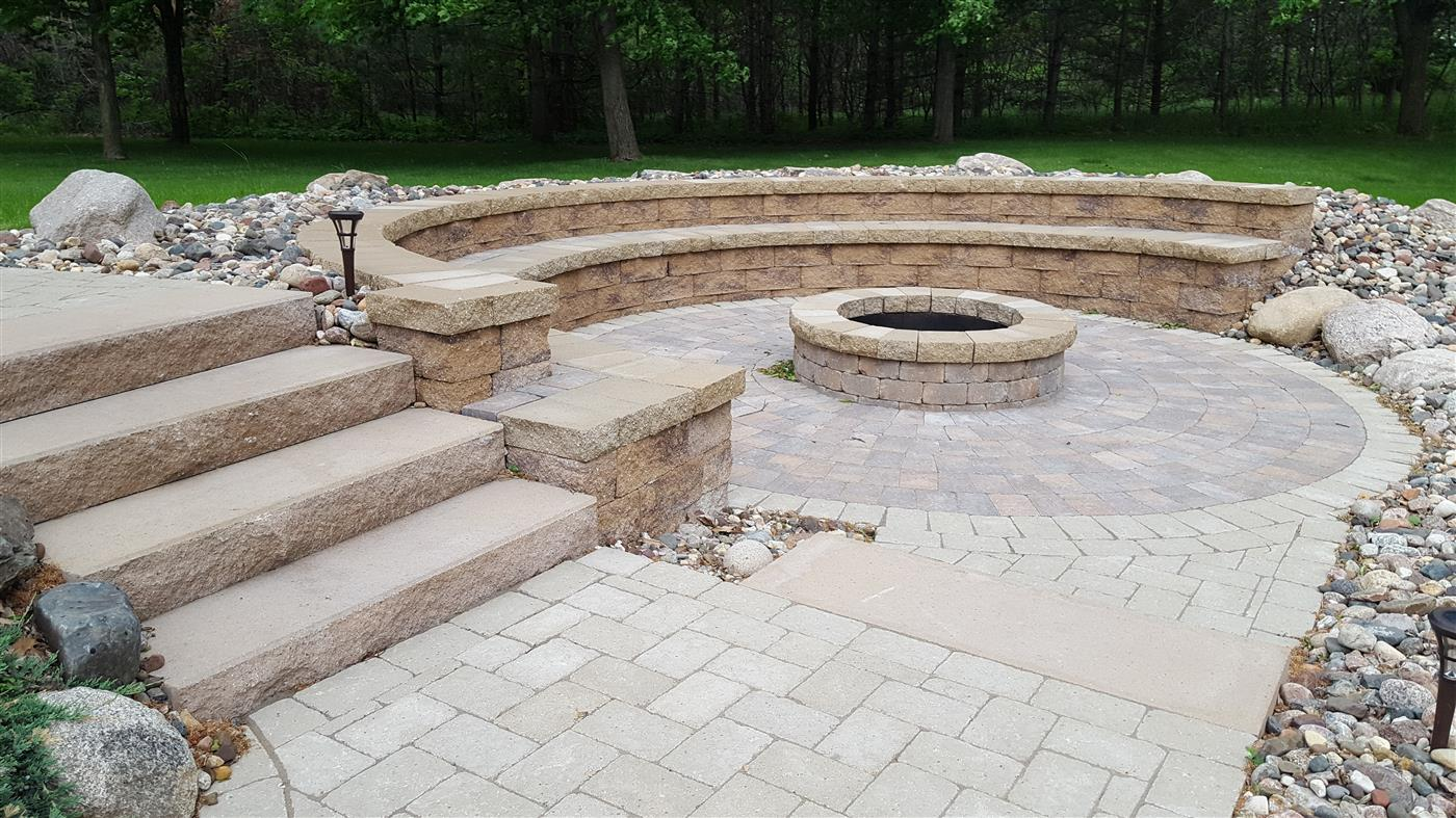 Natural Stone And Paver Patios Ns Landscapes