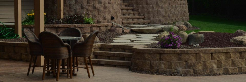 We design and build patios, walkways 