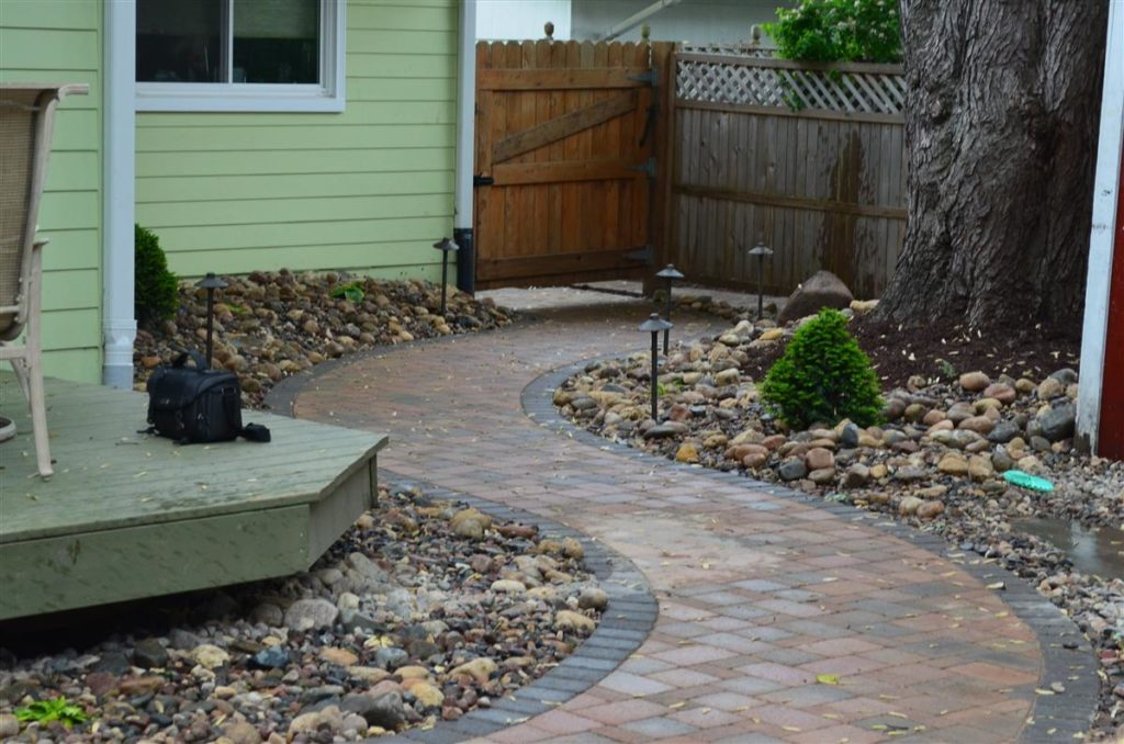 landscaping paths and walkways Natural Stone Paver And Precast Concrete Steps And Walkways