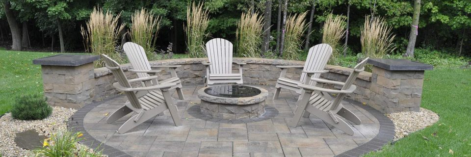 We design and build patios, 